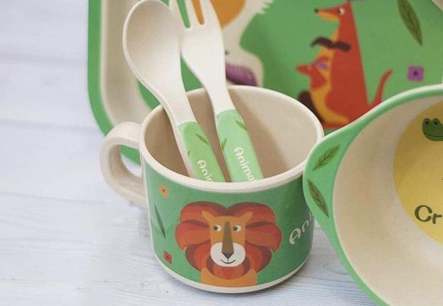 Бамбуковая посуда для детей: отзывы о бамбуковом волокне и наборы