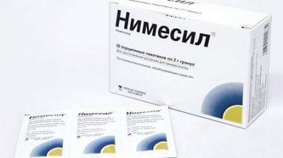 Нимесил при отравлении: можно ли пить, оценка эффективности
