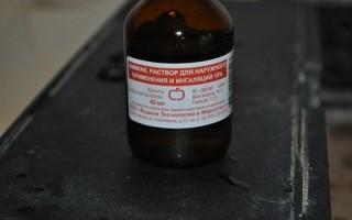 Отравление нашатырным спиртом: быстрое лечение, первая помощь