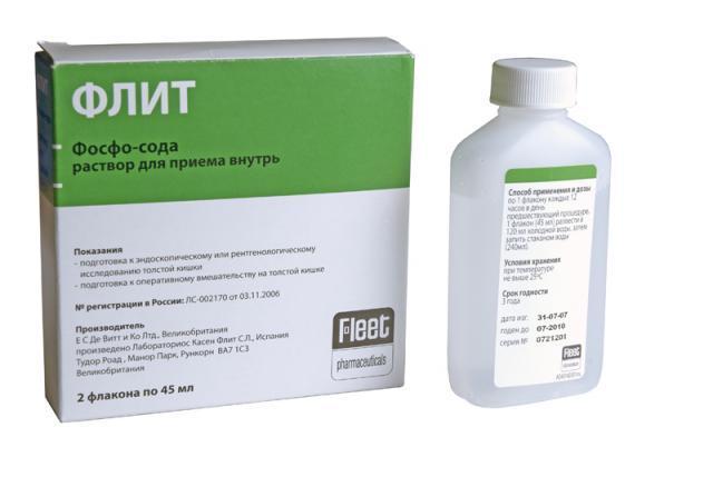 Флит фосфо-сода для очищения кишечника: инструкция и отзывы
