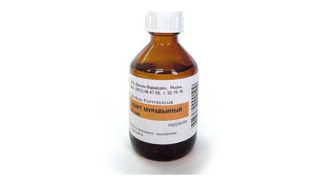 Применение муравьиного спирта при лечении суставов