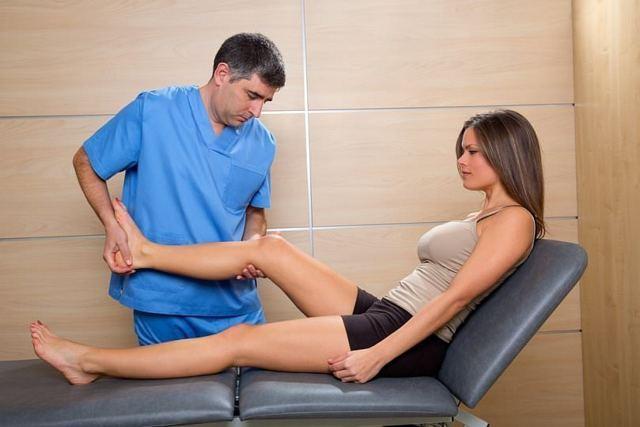 Техника массажа коленного сустава при артрите