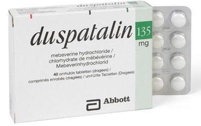 Сравнение Дюспаталина или Тримедата