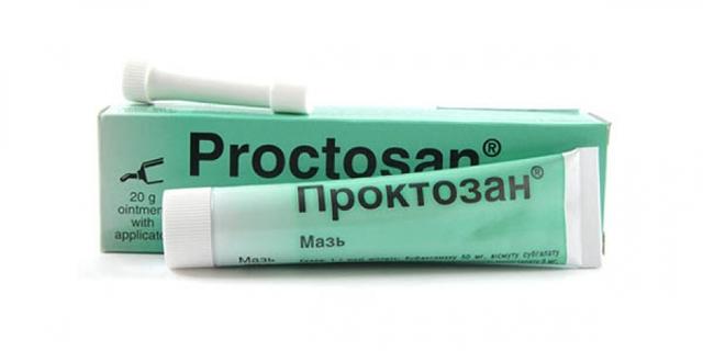 Применение свечей Проктозан при геморрое