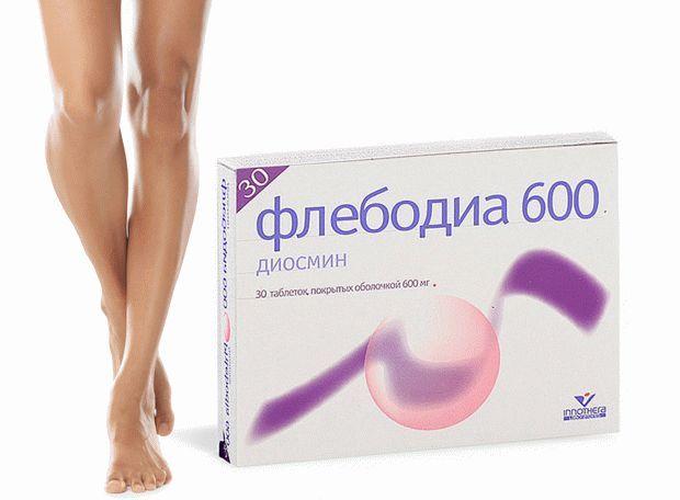 Применение Флебодиа 600 при геморрое
