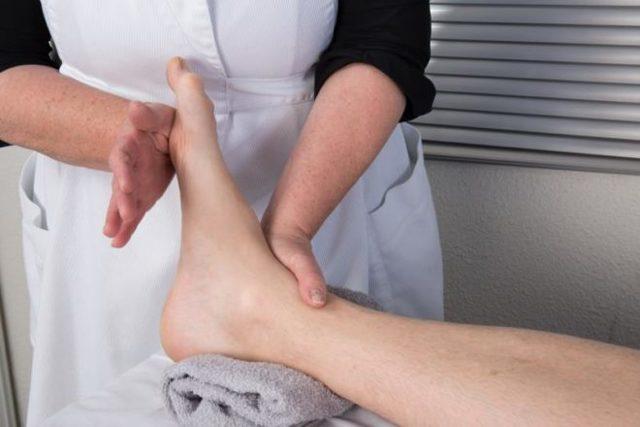 Реабилитация после перелома лодыжки: физиопроцедуры, ЛФК