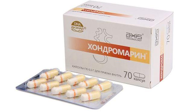 Хондромарин: инструкция по применению, отзывы, цена