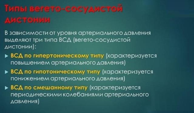 Особенности ВСД с гипертоническими проявлениями