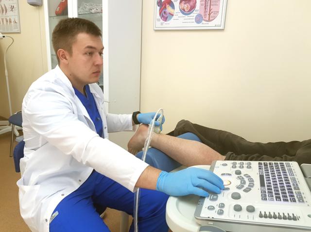 УЗИ голеностопного сустава: проведение и результаты
